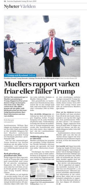 Mueller-rapporten i SvD