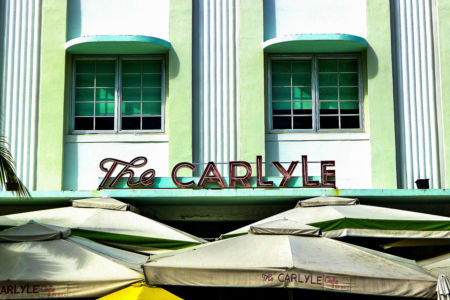 The Carlyle Hotel, Miami Beach.