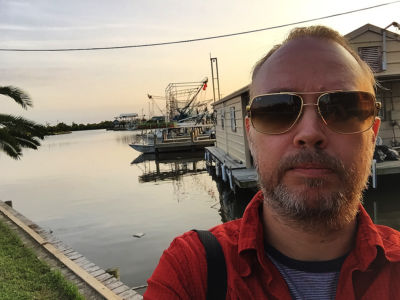 Erik i Louisiana