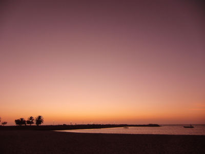 African dawn.