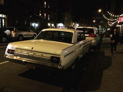 Old car in New York City