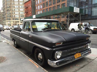 En cool Chevy-truck