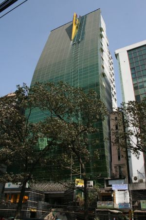 Hotell i Dhaka...