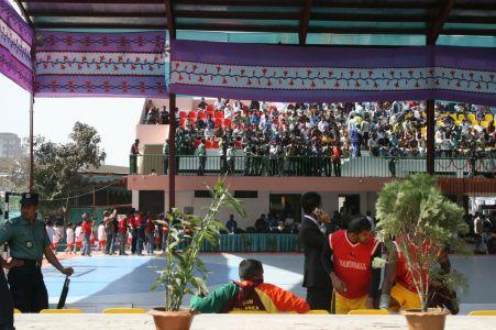 Asiatiska idrottstŠvlingar pŒgick i Dhaka i januari vid stadion mitt i stan.