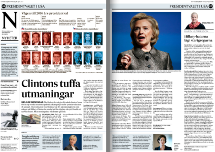 Clinton-iowa-svd-uppslag