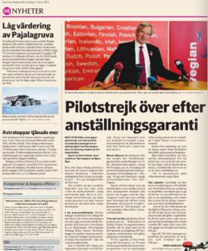 Norwegian-strejkslut