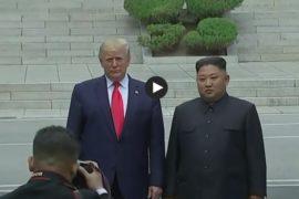 Ur nyhetsvideo från DMZ söndag 30 juni 2019.